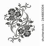 Luxury Flower Motif For Design