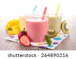 fruit juice  smoothie | Shutterstock . vector #264890216