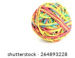 rubber band and eraser | Shutterstock . vector #264893228