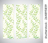 collection vertical banners in... | Shutterstock .eps vector #264895859