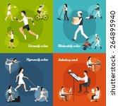 physical activity design... | Shutterstock .eps vector #264895940