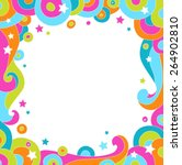 colorful vector background | Shutterstock .eps vector #264902810