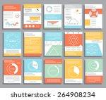 brochure design for business... | Shutterstock .eps vector #264908234