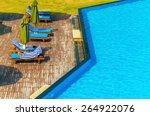 Luxury Swimming Pool With Blu...