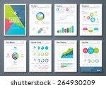 infographic brochures and... | Shutterstock .eps vector #264930209