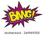 comic explosion bang | Shutterstock .eps vector #264969203