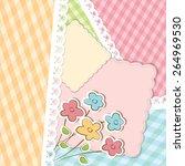 beautiful vector background... | Shutterstock .eps vector #264969530