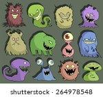 halloween set of illustrations...