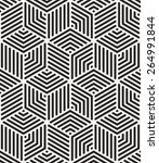 seamless linear pattern.... | Shutterstock .eps vector #264991844