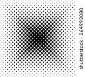 black vector abstract... | Shutterstock .eps vector #264993080
