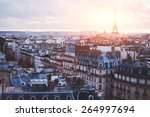 architecture of paris  france ... | Shutterstock . vector #264997694