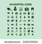 50 hospital  medicine icons ...