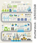 energy and ecology infographic... | Shutterstock .eps vector #265033268