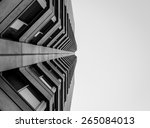 abstract view looking up at... | Shutterstock . vector #265084013
