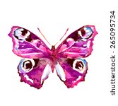 butterflies design | Shutterstock .eps vector #265095734