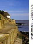 Runswick Bay Sea Wall Runswick...