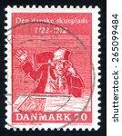 denmark   circa 1972  stamp...   Shutterstock . vector #265099484