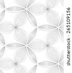 seamless geometric background.... | Shutterstock .eps vector #265109156