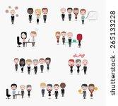business people | Shutterstock .eps vector #265133228