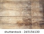 wooden boards with texture as... | Shutterstock . vector #265156130