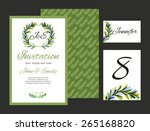 set backgrounds to celebrate... | Shutterstock .eps vector #265168820