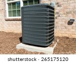 central air conditioning unit | Shutterstock . vector #265175120