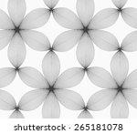 seamless geometric pattern.... | Shutterstock .eps vector #265181078