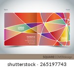 square cover design | Shutterstock .eps vector #265197743