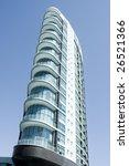 modern office building at a... | Shutterstock . vector #26521366