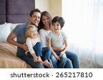 family with children at home | Shutterstock . vector #265217810