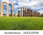 aqueduct los milagros  merida ... | Shutterstock . vector #265223558
