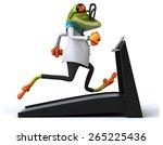 fun frog | Shutterstock . vector #265225436