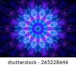 Multicolored Glowing Fractal...