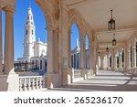 sanctuary of fatima  portugal....   Shutterstock . vector #265236170