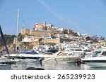 ibiza spain may 1 ibiza harbor... | Shutterstock . vector #265239923