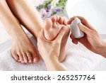scrub  scrub with pumice dead... | Shutterstock . vector #265257764