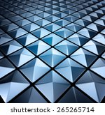 background of metal squares... | Shutterstock . vector #265265714