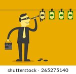 Money Laundering Concept