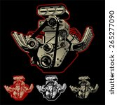 Cartoon Motor. Available Eps 8...