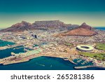 cape town  south africa | Shutterstock . vector #265281386