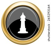 chess icon. internet button on...