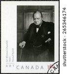 Canada   Circa 2008  A Stamp...