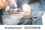 technologies for success... | Shutterstock . vector #265350848