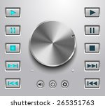 metal volume button and setting ...