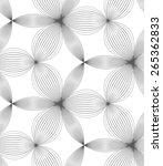 abstract geometric background.... | Shutterstock .eps vector #265362833
