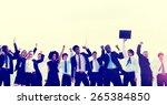 business people corporate... | Shutterstock . vector #265384850