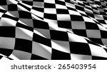 3d. Checkered Flag  Sports Rac...