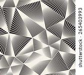 vector seamless pattern.... | Shutterstock .eps vector #265403993