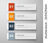 design clean template for...   Shutterstock .eps vector #265429664