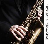 Saxophone Jazz Music Instrumen...